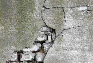Kaputtes Mauerwerk